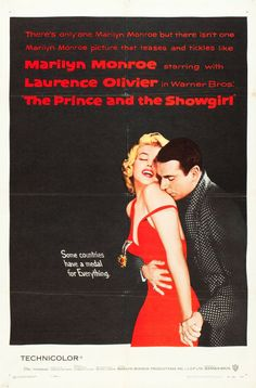 "Movie Posters:Romance, The Prince and the Showgirl (Warner Brothers, 1957). One Sheet (27""X 41"").. ... Image #1"