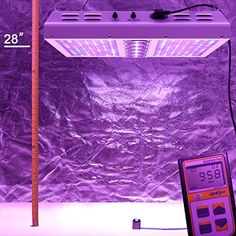 Viparspectra in grow tent Best Grow Lights, Grow Room, Plant Lighting, Grow Tent, Photosynthesis, Plant Growth, Canopy, 4x4, Plants