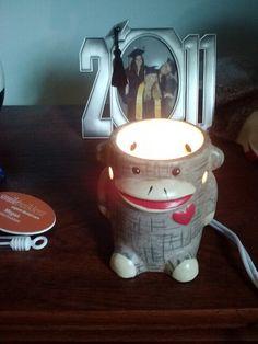 Cute sock monkey light from Alyssa :)