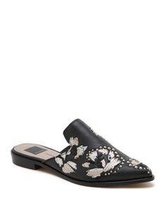 bf647f4f7ef Dolce Vita Harmony Embellished Mules Mules Shoes