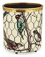132.  A Piero Fornasetti wastepaper bin, Milan, Italy.