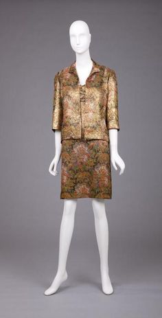 Suit Pauline Trigére, late 1960s The Goldstein Museum of Design