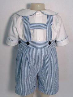 Peter Pan Collar Baby Shirt - Patricia Smith Designs