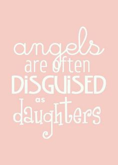 Well put! Where would we be without our daughters??   ##momsanddaughters