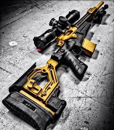 RAE Magazine Speedloaders will save you! Weapons Guns, Airsoft Guns, Guns And Ammo, Tactical Guns, Tactical Survival, Armas Airsoft, Armas Wallpaper, Armas Ninja, Custom Guns