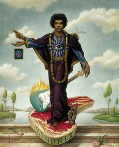 Jimmy Hendrix - Mark Ryden