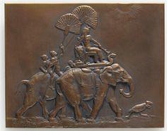 Cléopâtre - Cléopâtre aux éléphants Fremiet Emmanuel (1824-1910) Paris, musée d'Orsay  http://www.photo.rmn.fr/CorexDoc/RMN/Media/TR1/SX9JPD/09-539072.jpg