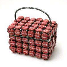 Coca Cola Korb / Koffer aus Kronkorken in Wetzikon ZH kaufen bei ricardo.ch