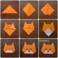 #origami #shibainu                                                                                                                                                                                 More