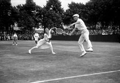 Rene Lacoste and Suz