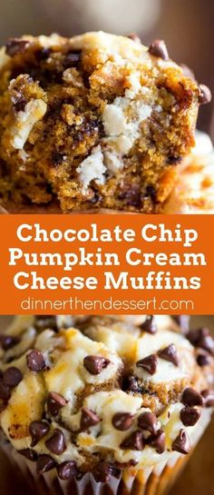 Chocolate chip, pumpkin AND cream cheese? What an intriguing combination of flavors!