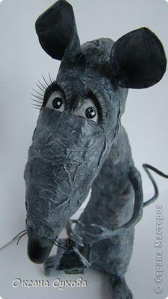 Крыска с фонариком фото 3
