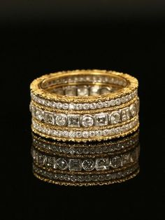 Buccellati Diamond Eternity Band