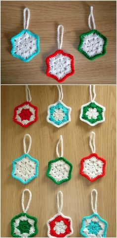 30 Easy Crochet Christmas Ornaments To Decorate Your Tree,Crochet is such a popular craft, particularly for the holidays. I remember when I was younger going to craft fairs around Christmas and there would al. Crochet Penguin, Crochet Santa, Crochet Snowman, Crochet Ornaments, Crochet Snowflakes, Crochet Gifts, Diy Crochet, Easy Crochet Blanket, Easy Crochet Patterns