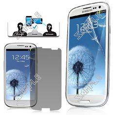 Low Price Samsung Accessories: Anti-peep Privacy Filter LCD Screen Protector Guar...
