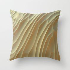 Buttercream Throw Pillow by Lyle Hatch - $20.00