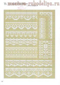 I love cross stitch lace part 1