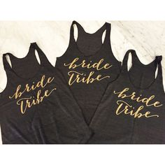 Bachelorette Party Tank Tops ($20) ❤ liked on Polyvore featuring tops, grey, tanks, women's clothing, tribal print tops, bridal party tanks, grey tank top, gray tank top and bride tank top