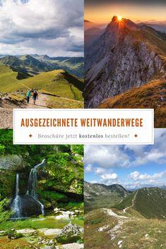 Gönne dir eine Auszeit in der Natur und erweitere deinen Horizont. Bestelle jetzt die gratis Broschüre und finde deinen perfekten Weitwanderweg in Österreich! #fernwandern #mehrtagestouren #mehreretagewandern #wanderurlaub #wanderinösterreich #wandern #berge #hüttenwandern #weitwanderwege #fernwanderwege #austria #österreich #urlaubinösterreich Portal, Mountains, Nature, Travel, Gap Year, Hiking, Viajes, Naturaleza, Destinations