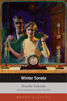 Cover of 'Winter Sonata' by Dorothy Edwards. I love this book. Vintage Advertisements, Vintage Ads, Vintage Posters, Vintage Watches, Art Museum, Illustration Art, Illustrations, Poster Prints, Advertising