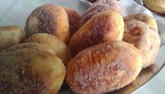 Recept Koblihy z bramborového těsta Eastern European Recipes, Sweet Desserts, Pretzel Bites, Pancakes, Muffin, Low Carb, Potatoes, Bread, Vegetables