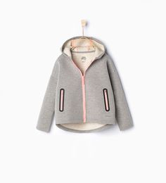 Image 1 of Jacket with pockets from Zara Girls Fall Fashion, Fashion Design For Kids, Tween Fashion, Toddler Fashion, Look Fashion, Zara Kids, Baby Kids Wear, Kids Summer Dresses, Sporty Girls