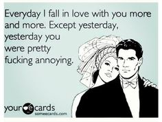 Cute funny love quotes. Gotta have some humor in relationships. Lol