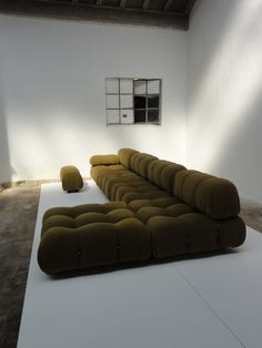 """Mario Bellini """"Camaleonda'' modular sofa,  early C&B Italia 1971 