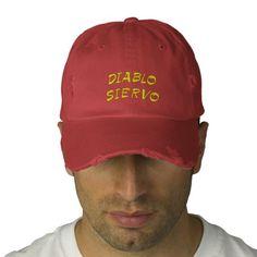devil servant in Spanish Baseball Cap