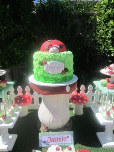 Ladybug Garden Party - Baby Shower Ideas - Themes