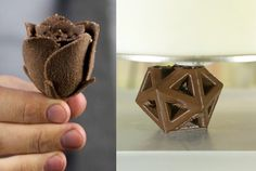 CocoJet Chocolate 3D Printer Unveiled By 3D Systems At CES 2015 - This 3D printer has been designed specifically for culinary printing and is capable of printing objects using chocolate as the printing material rather than plastic or metal as in traditional 3D printers. | Geeky Gadgets