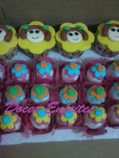 Doces Fondados da Lalaloopsy e cupcakes decorados. Encomendas:(21)2652-6583 www.docesenfeites.blogspot.com