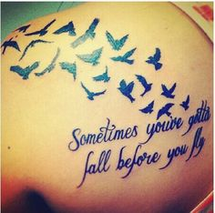 Tattoos should be meaningful not an impulse and i think this is a highly meaningful tattoo