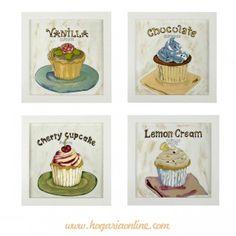 Pinturas para cocina on pinterest cup cakes bodas and - Pinturas para cocina ...