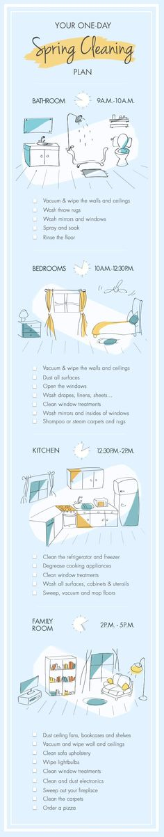 Spring-Cleaning That Won't Take Over Your Life: 8 Hours, Start to Finish || Go…