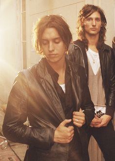 Julian Casablancas and Nick Valensi