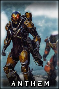 Anthem and Similarities With Mass Effect and Marvel Movies: new Details from BioWare Anthem Bioware, Anthem Game, Xbox, Playstation, Sci Fi Armor, Futuristic Art, Fantastic Art, Awesome, Sci Fi Characters