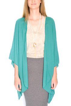 Wendy Kimono Emerald