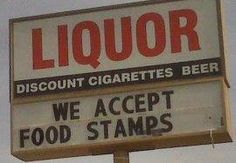 WHY would WE THE TAXPAYER be providing this via food stamps???