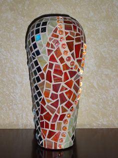Mosaic Vase Mosaic Vase, Mosaics, Vases, Art, Craft Art, Kunst, Jars, Mosaic, Vase