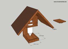 1 Automatischer Futterspender Vogelhaus Bauanleitung