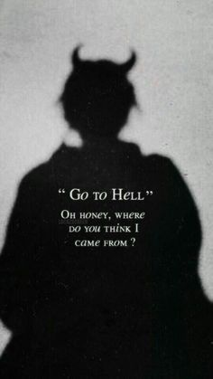 At least I can be able to see my demons in hell 🔥 - Laura Cunha - Wallpapers Designs I wish I could go back. At least I can be able to see my demons in hell 🔥 - Laura Cunha - Hell Quotes, Badass Quotes, True Quotes, Funny Quotes, Qoutes, Karma Quotes, Bitch Quotes, Sarcastic Quotes, Sad Wallpaper