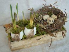 ...s hniezdom..., Veľkonočné dekorácie | Artmama.sk