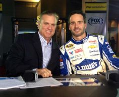 Embedded image permalink Steve Byrne, Jimmy Johnson, Fox Sports, Camping World, Formula One, Embedded Image Permalink, Champs, Nascar, Dads