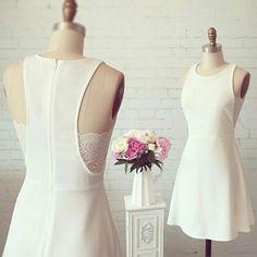 Ma toute simple robe de mariée. Boutique 1861.