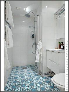 Maison de Poupées Blanc Petit Carreau Nappe 12 x 7 cuisine ou salle de bain au sol ou mural