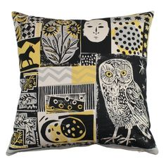 Mark Hearld cushion cover
