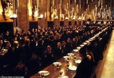 great hall harry potter - Google Search