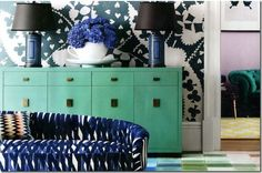 » Color Inspiration: Navy Blue and Turquoise