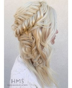 Simple fishtail style